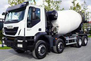 Gicaya  auf Chassis IVECO TRAKKER 400 , E6 , 8X4 , Cement mixer 10m3 , retarder , 100.000k Betonfahrmischer
