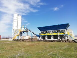 neue PROMAX Compact Concrete Batching Plant C60-SNG-LINE (60m3/h) Betonmischanlage
