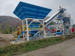 PROMAX Compact Concrete Batching Plant C60-SNG-PLUS (60m3/h) Betonmischanlage