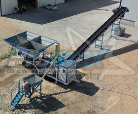 neue PROMAX Mobile Concrete Batching Plant M35-PLNT (35m³/h) Betonmischanlage