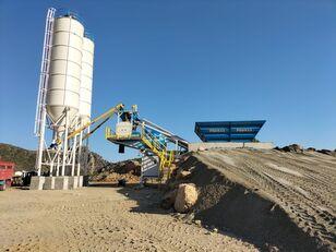 neue PROMAX Mobile Concrete Batching Plant PROMAX M60-SNG (60m3/h) Betonmischanlage