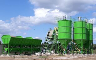 neue SUMAB T-80 (Pan mixer: 3000/2000 litres) HIGH CAPACITY concrete plant Betonmischanlage