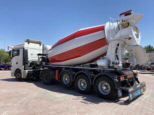 neuer ALIM mixer semi trailer concrete mixer semi-trailer Betonmischer Auflieger
