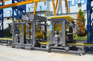 neue ELKON ELKOBLOCK-36S FULLY AUTOMATIC SINGLE LAYER Concrete Block Machin Betonsteinmaschine
