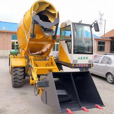 neuer LUZUN selfloading concrete mixer Mobilbagger