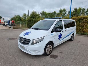 MERCEDES-BENZ VITO 163 CV - 2018 - 204 000 KM - AUTOMATIC Rettungswagen