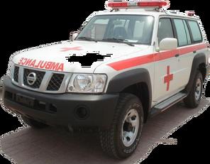 neuer NISSAN Patrol 4.0 XE AT Rettungswagen